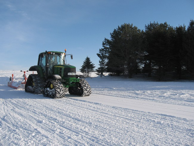 North Iowa Sno-Jammers' Trail Groomer